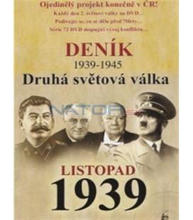Deník - Druhá světová válka (3. díl) - listopad 1939 (Second World War Diary (1939-1945) DVD