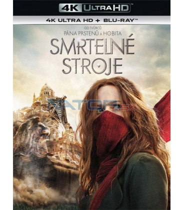 Smrtelné stroje (Mortal Engines) 2018 (4K Ultra HD) - UHD Blu-ray + Blu-ray