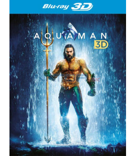 Aquaman 2018 Blu-ray 3D + 2D