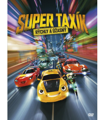 Super Taxík 2018 (Wheely) DVD
