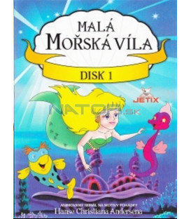 Malá mořská víla - disk 1 (The Little Mermaid) DVD