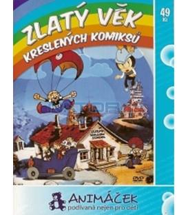 Zlatý věk kreslených komiksů (ComiColor Cartoons) DVD