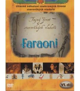 Tajný život starověkých vladařů (6. díl) - Faraoni (Private Lives of the Pharaohs) DVD