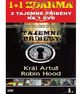 Tajemné příběhy (1. díl) - Král Artuš / Robin Hood (Mystery Files: King Arthur / Robin Hood) DVD