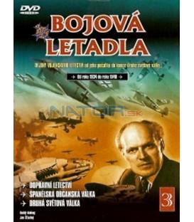 Bojová letadla 3 (La Aviación de Transporte / La Guerra Civil Española / La Segunda Guerra Mundial) dvd