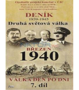 Deník - Druhá světová válka (7. díl) - březen 1940 (Second World War Diary (1939-1945) DVD