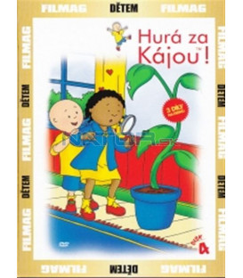 Hurá za Kájou! - disk 4 (Caillou) DVD