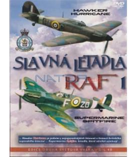 Slavná letadla RAF 1 (Hurricane + Spitfire) DVD