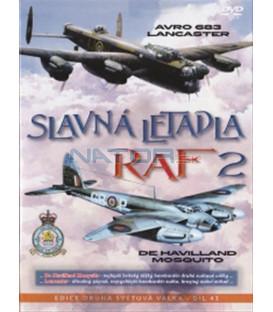 Slavná letadla RAF 2 (Mosquito + Lancaster) DVD