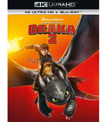Jak vycvičit draka 2 - 2014 (How to Train Your Dragon 2) (4K Ultra HD) - UHD Blu-ray + Blu-ray