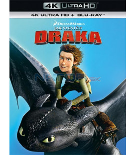 Jak vycvičit draka  2010 (How to Train Your Dragon) (4K Ultra HD) - UHD Blu-ray + Blu-ray