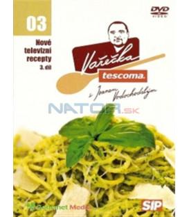 Nové televizní recepty - Tescoma Vařečka s Ivanem Vodochodským 3. díl DVD