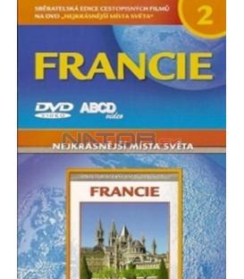 Nejkrásnější místa světa 2 - Francie DVD