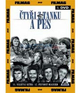 Čtyři z tanku a pes 6 - díly 11 a 12 (Czterej pancerni i pies) DVD