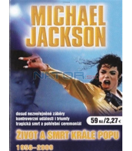 Michael Jackson - Život a smrt krále popu 1958-2009 (Michael Jackson - History: The King of Pop 1958-2009) DVD