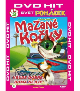 Mazané kočky 2 (The Twisted Whiskers) DVD