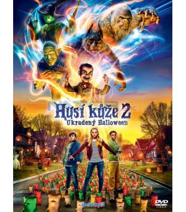 Husí kůže 2: Ukradený Halloween 2018 (Goosebumps 2: Haunted Halloween) DVD (SK OBAL)