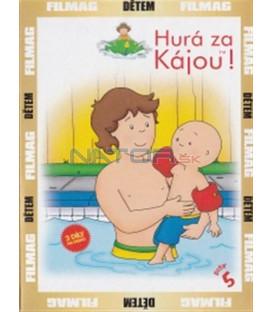 Hurá za Kájou! - disk 5 (Caillou) DVD