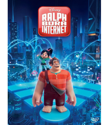 Ralph búra internet / Raubíř Ralf a internet 2018 (Ralph Breaks the Internet) DVD