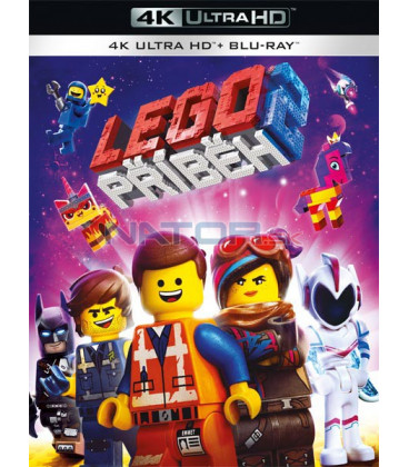 Lego příběh 2 - 2019 (The Lego Movie 2: The Second Part) (4K Ultra HD) - UHD Blu-ray + Blu-ray