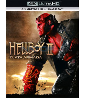 Hellboy 2: Zlatá armáda 2008 (Hellboy 2: The Golden Army) (4K Ultra HD) - UHD Blu-ray + Blu-ray