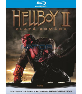 Hellboy 2: Zlatá armáda 2008 (Hellboy 2: The Golden Army) Blu-ray