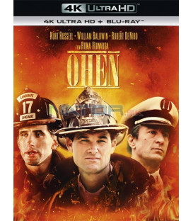 Oheň 1991 (Backdraft) (4K Ultra HD) - UHD Blu-ray + Blu-ray
