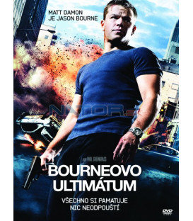 Bourneovo ultimátum 2007 (The Bourne Ultimatum) DVD