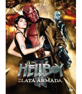 Hellboy 2: Zlatá armáda 2008 (Hellboy 2: The Golden Army) DVD