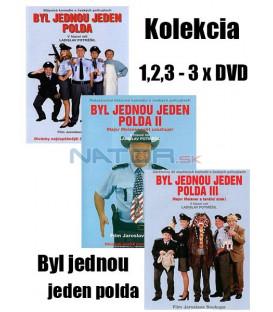 Kolekcia : Byl jednou jeden polda 1,2,3 - 3 x DVD