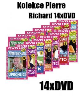 Kolekce Pierre Richard 14xDVD