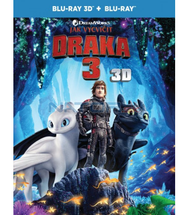Ako si vycvičiť draka 3 - 2019 (How to Train Your Dragon 3) Blu-ray 3D + 2D