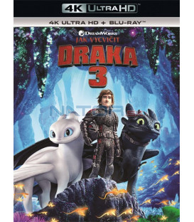Ako si vycvičiť draka 3 - 2019 (How to Train Your Dragon 3) (4K Ultra HD) - UHD Blu-ray + Blu-ray