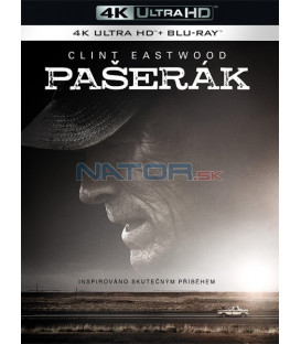 Pašerák (THE MULE) 2018 Clint Eastwood (4K Ultra HD) - UHD Blu-ray + Blu-ray