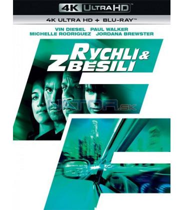 Rychlí a zběsilí 2009 (Fast & Furious) (4K Ultra HD) - UHD Blu-ray + Blu-ray