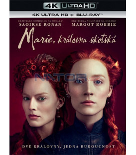 Marie, královna skotská 2018 (Mary Queen of Scots) (4K Ultra HD) - UHD Blu-ray + Blu-ray