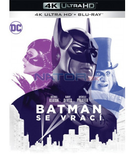 Batman se vrací 1992 (Batman Returns) (4K Ultra HD) - UHD Blu-ray + Blu-ray