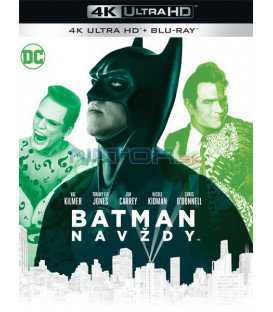 Batman navždy 1995 (Batman Forever) (4K Ultra HD) - UHD Blu-ray + Blu-ray