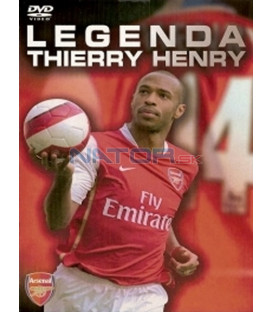 Legenda Thierry Henry (Thierry Henry Legend) DVD