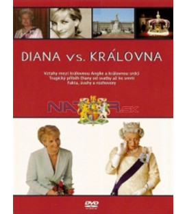 Diana vs. královna (Diana vs The Queen) DVD