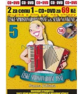 České sprostonárodní písně 5 & Sexík na víkend 5 CD+DVD