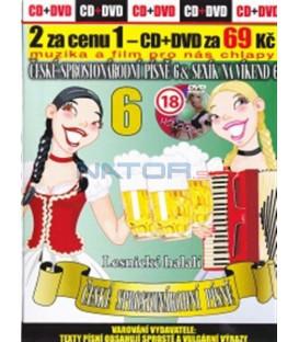 České sprostonárodní písně 6 & Sexík na víkend 6 CD+DVD