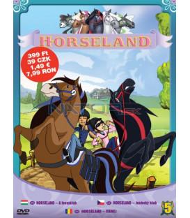 Horseland - Jezdecký klub 5 (Horseland) DVD