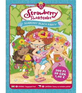 Jahůdka 10 - Oslavy na mořském pobřeží (Strawberry Shortcake: Seaberry Beach Party) DVD