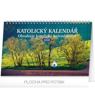 Stolní kalendář Katolický kalendář CZ 2020, 23,1 x 14,5 cm