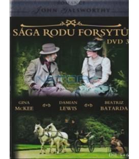 Sága rodu Forsytů - DVD 3 (The Forsyte Saga) DVD