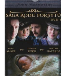 Sága rodu Forsytů - DVD 4 (The Forsyte Saga) DVD