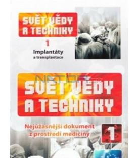Svět vědy a techniky 1 - Implantáty a transplantace (Science - World of Science) DVD