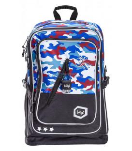 BAAGL Školský batoh Cubic Army
