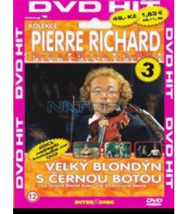 Velký blondýn s černou botou DVD (Le grand blond avec une chaussure noire)